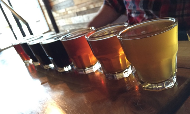 Beer Flight Small Tile by WutsUpBuffalo
