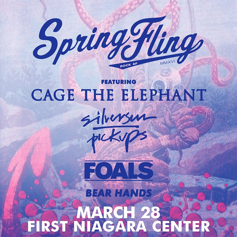spring fling flyer template